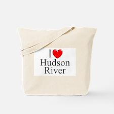 """""""I Love Hudson River"""" Tote Bag"""