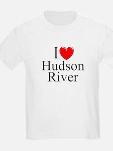 """I Love Hudson River"" Kids T-Shirt"