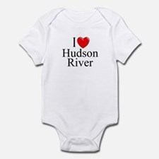 """I Love Hudson River"" Infant Bodysuit"