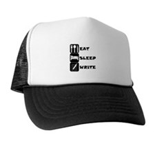 Eat Sleep Write Trucker Hat