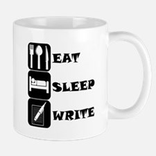 Eat Sleep Write Mugs