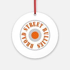 Broad Street Bullies Steel BLk Round Ornament