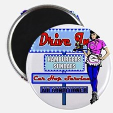 AT-THYE-DRIVE-IN-RETRO-50S Magnet