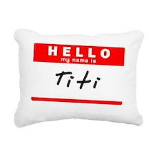 Titi Rectangular Canvas Pillow