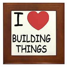 BUILDING_THINGS222 Framed Tile