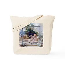 KEEPSAKE-MAKOVSKY GardenCupids Tote Bag