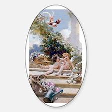 3G MAKOVSKY-GardenCupids Sticker (Oval)