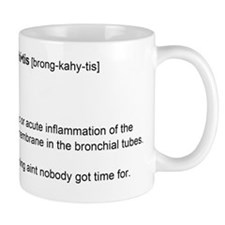 brochitis Mug
