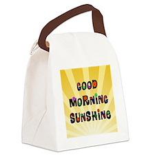 Good Morning Sunshine Canvas Lunch Bag