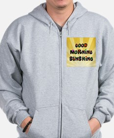 Good Morning Sunshine Zip Hoodie