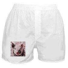 sweet piglet, pink Boxer Shorts