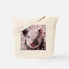 sweet piglet, pink Tote Bag