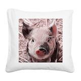 Pigs Throw Pillows