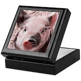 Pig Keepsake Boxes