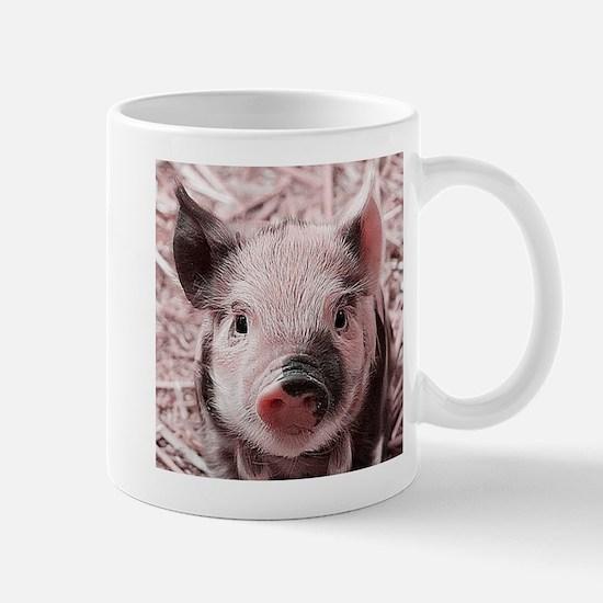 sweet piglet, pink Mugs