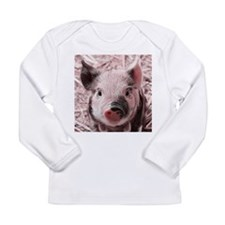 sweet piglet, pink Long Sleeve T-Shirt