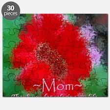 red flower Mom vblove Puzzle