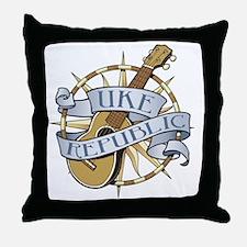 ukerepublic_logo_color_med Throw Pillow