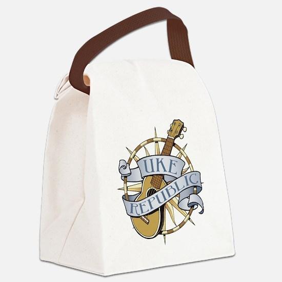 ukerepublic_logo_color_med Canvas Lunch Bag