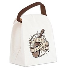 ukerepublic_logo_sepia_med Canvas Lunch Bag