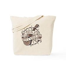 ukerepublic_logo_sepia_med Tote Bag