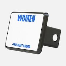 obamawomenblue Hitch Cover
