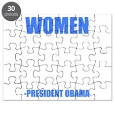 obamawomenblue Puzzle