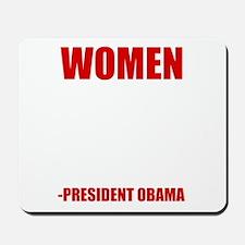 obamawomenwh Mousepad
