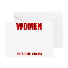 obamawomenwh Greeting Card