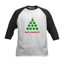 Xmas Tree - Green Baseball Jersey