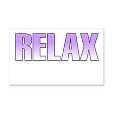 relax2 Rectangle Car Magnet