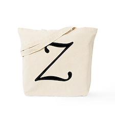Z_letter_v4 Tote Bag
