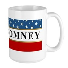 mitt romney stars 2012 bumper sticker 1 Mug