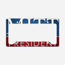 16x20 Bold Design Romney License Plate Holder