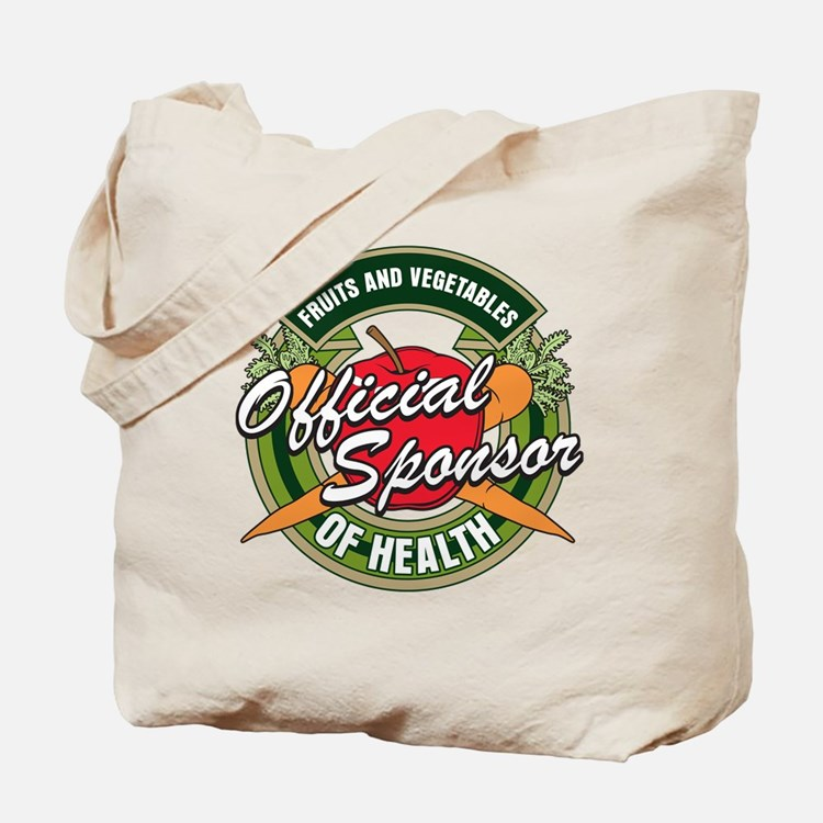 Fruits and Veggies Sponsor of Health Tote Bag