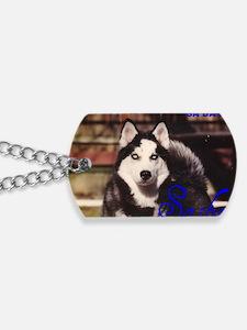 SASHA electra blue Dog Tags