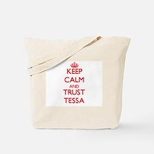 Keep Calm and TRUST Tessa Tote Bag