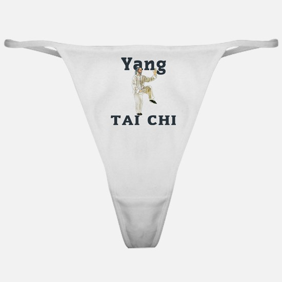 YangGoldencockLight Classic Thong