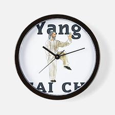 YangGoldencockLight Wall Clock