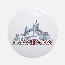 London: Tower Bridge Ornament (Round)