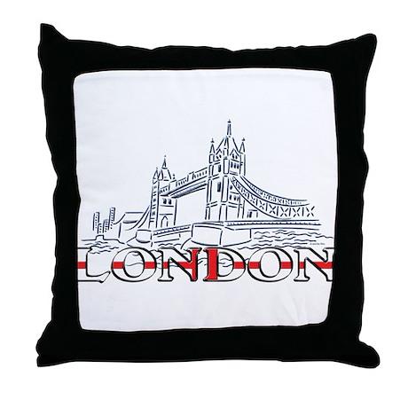 London: Tower Bridge Throw Pillow