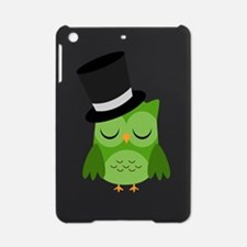 Owl New Year Party Top Hat iPad Mini Case