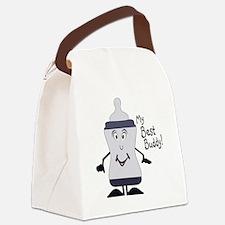 My Drinking Buddy Canvas Lunch Bag