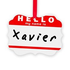 Xavier Ornament