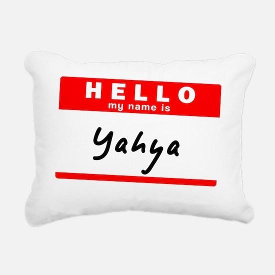 Yahya Rectangular Canvas Pillow