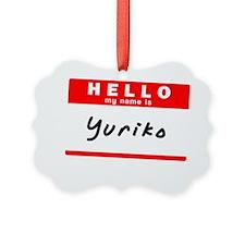 Yuriko Ornament