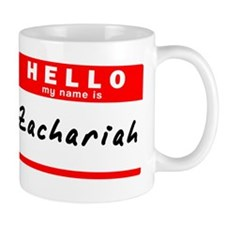 Zachariah Small Mug