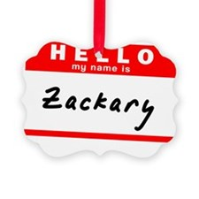 Zackary Ornament