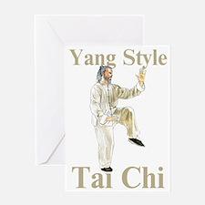 yangtaichicockColored Greeting Card