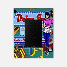 AT-THE-DRIVE-IN-temp_shower_curtain Picture Frame